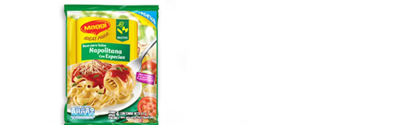 Delicias para Hoy - Base para salsa Napolitana Maggi®