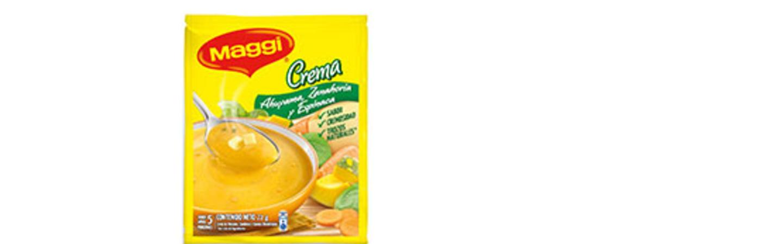 Crema de Ahuyama, Zanahoria y Espinaca MAGGI®