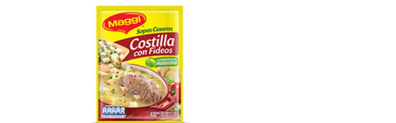Sopa MAGGI® Costilla con Fideos